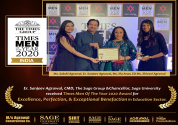 Times Menof the Year 2020 Award - SAGE University