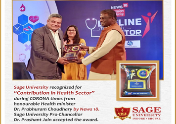 Contribution in Health Sector - SAGE University