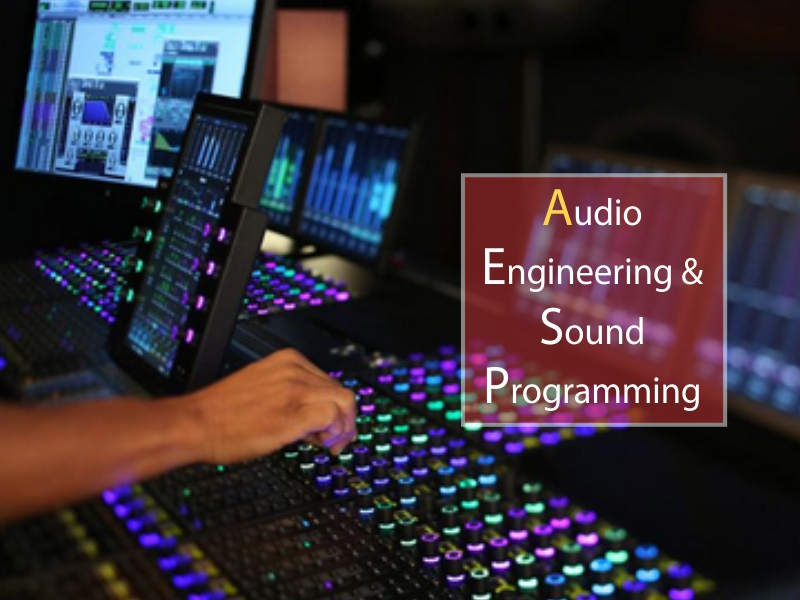Bachelor of Performing Arts - Audio Engineering & Sound Programming