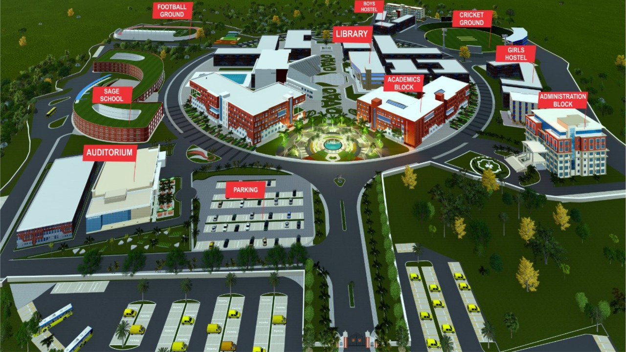 Sage University - Birds Eye View